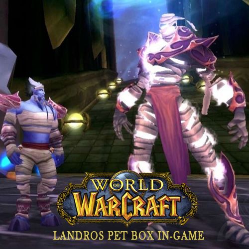 World of Warcraft Landros Pet Box In-game