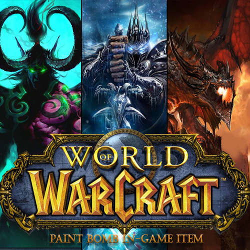 Acheter World of Warcraft Paint Bomb In-game Item Clé Cd Comparateur Prix