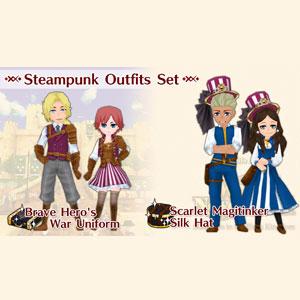 WorldNeverland Elnea Kingdom Steampunk Outfits Set