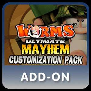 Worms Ultimate Mayhem Customization Pack DLC