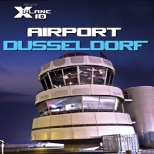 X-Plane 10 Global 64 Bit Airport Dusseldorf