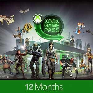 Xbox Game Pass 12 Mois