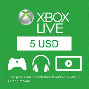 Acheter 5 USD Xbox Live Code Comparateur Prix