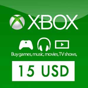 Acheter 15 Dollars Xbox Live Code Comparateur Prix