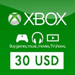 Acheter 30 Dollars Xbox Live Code Comparateur Prix