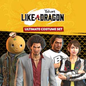 Yakuza Like a Dragon Ultimate Costume Set