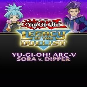 Yu-Gi-Oh ARC-V Sora and Dipper