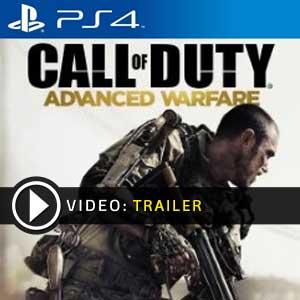 Call of Duty Advanced Warfare PS4 en boîte ou à télécharger