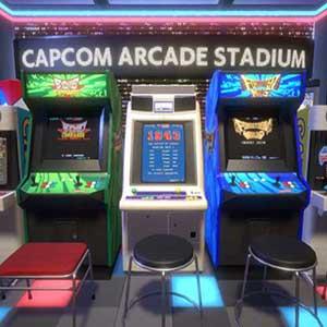 Capcom Arcade Stadium Packs 1, 2, and 3 Arcade Virtuelle