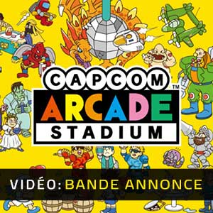 Capcom Arcade Stadium Bande-annonce Vidéo
