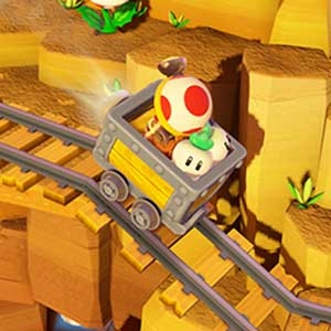 Captain Toad Treasure Tracker Nintendo Wii U Chemin de fer