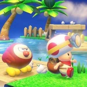 Captain Toad Treasure Tracker Nintendo Wii U Personnages