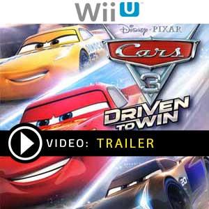 Cars 3 Driven to Win Nintendo Wii U en boîte ou à télécharger