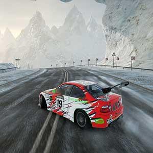 CarX Drift Racing Online Piste enneigée