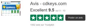 cdkeys.com trustpilot