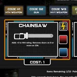 Chainsaw Warrior Equipement