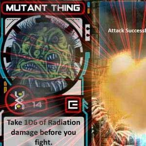 Chainsaw Warrior Dégat de Radiation