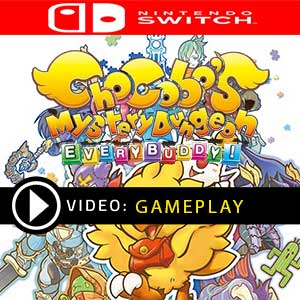CHOCOBO'S MYSTERY DUNGEON EVERY BUDDY Nintendo Switch en boîte ou à télécharger