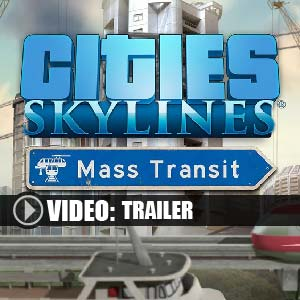 Acheter Cities Skylines Mass Transit Clé Cd Comparateur Prix