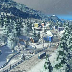 Cities Skylines Snowfall DLC