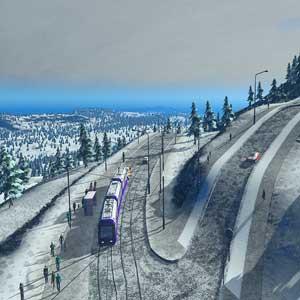 Cities Skylines Snowfall Gameplay
