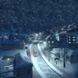 Cities Skylines Snowfall Neige