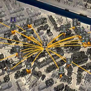 City of Gangsters Réseau Criminel