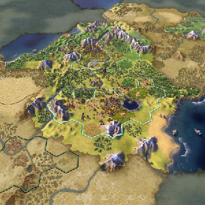 Civilization 6 Carte