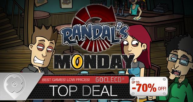 clé cd Randal's Monday meilleur prix