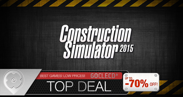 cle cd Construction Simulator moins cher