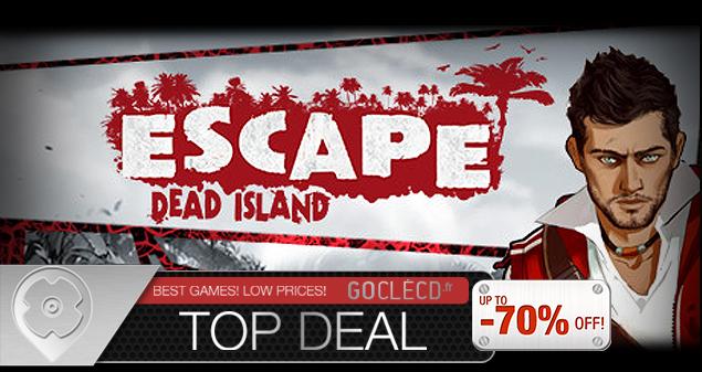cle cd Escape Dead Island moins cher
