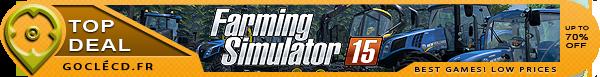 cle cd Farming Simulator 15 pas cher