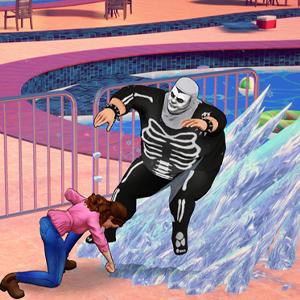 Cobra Kai The Karate Kid Saga Continues Attaque basée sur la glace
