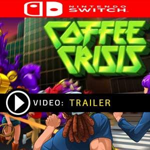 Coffee Crisis Nintendo Switch en boîte ou à télécharger