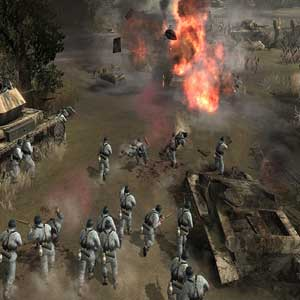 Company of Heroes Bataille