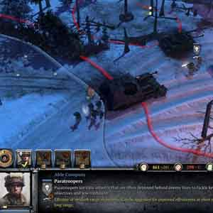 Company of Heroes 2 Ardennes Assault: Déployer des parachutistes