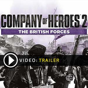 Acheter Company of Heroes 2 The British Forces Clé Cd Comparateur Prix