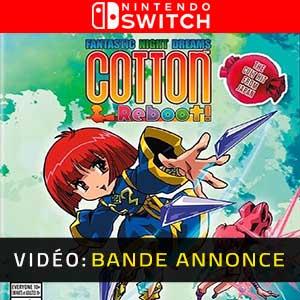 Cotton Reboot Nintendo Switch Bande-annonce Vidéo
