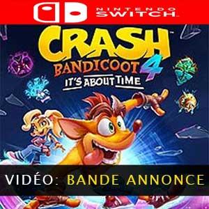 Crash Bandicoot 4 Its About Time Vidéo de la bande-annonce