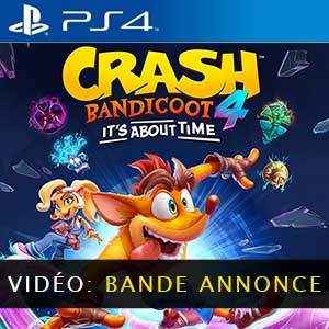 Crash Bandicoot 4 Its About Time Vidéo de la bande-annonce