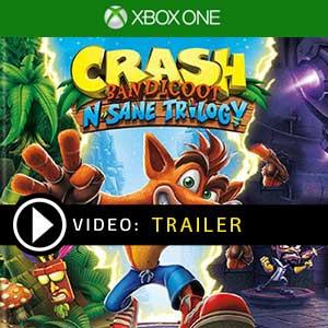 Crash Bandicoot N. Sane Trilogy Xbox One en boîte ou à télécharger