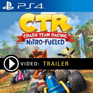 Crash Team Racing Nitro-Fueled PS4 en boîte ou à télécharger