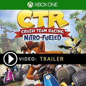 Crash Team Racing Nitro-Fueled Xbox One en boîte ou à télécharger