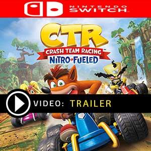 Crash Team Racing Nitro-Fueled Nintendo Switch en boîte ou à télécharger