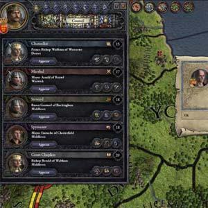 Crusader Kings 2 - Joueur HUD