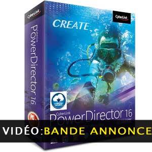 Acheter CyberLink PowerDirector 16 Ultimate Clé CD Comparateur Prix