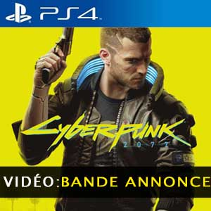 Vidéo de la bande annonce du Cyberpunk 2077