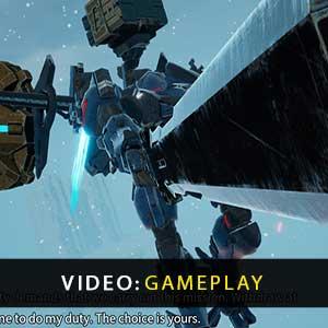 DAEMON X MACHINA Gameplay Video