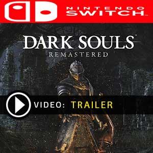 Dark Souls Remastered Nintendo Switch en boîte ou à télécharger