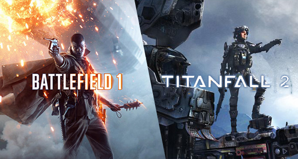 Titanfall 2 et Battlefield 1